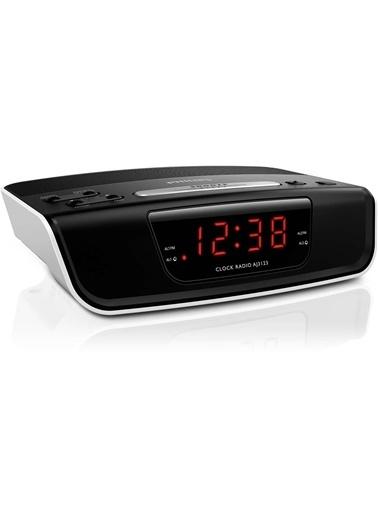 Philips AJ3123/12 Alarm Saatli Dijital FM Radyo Siyah